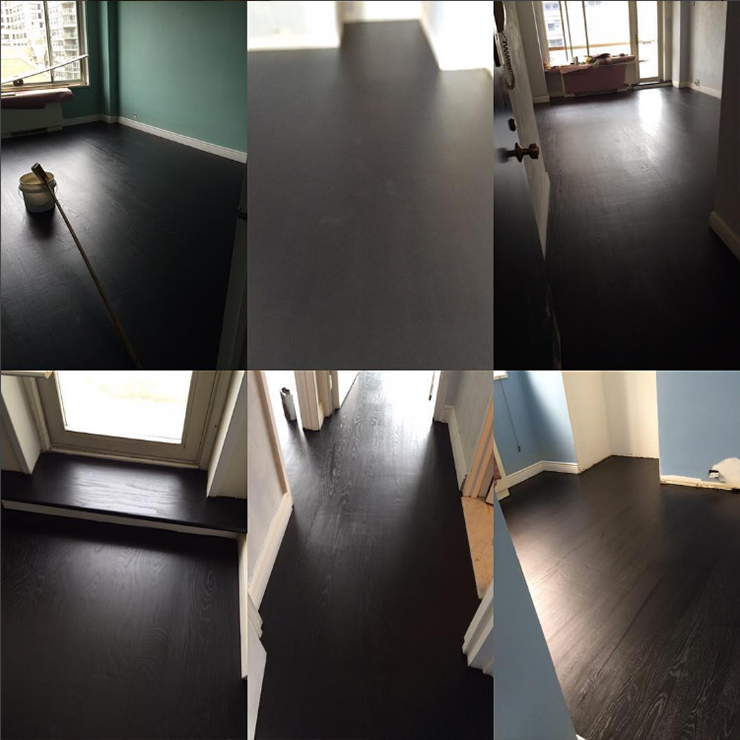 peiser floors nyc dark oak florring install